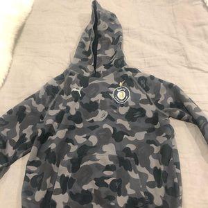 Bape x Puma FC hoodie